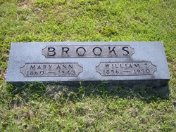 Mary A. <i>Gardner</i> Brooks