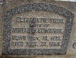 Elizabeth Porter <i>Todd</i> Edwards