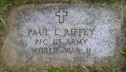 PFC Paul L. Riffey