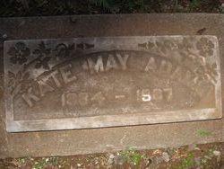 Katherine May Kate <i>Hunt</i> Adams