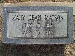 Mary Dean Chic <i>Parker</i> Olsen Matson
