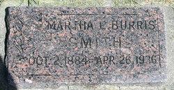 Martha Elizabeth <i>Burris</i> Smith