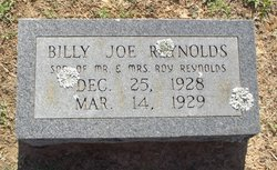 Billy Joe Reynolds