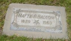 Hattie B Balcom
