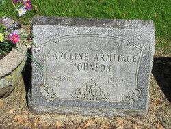 Caroline <i>Armitage</i> Johnson