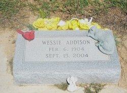 Wessie Lee Addison