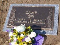 Rina Belle Ronnie <i>Webb</i> Camp