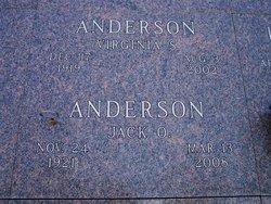 Virginia S Anderson