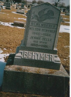 Jennie Belle <i>Mattox</i> Behymer