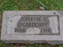 Jeanette Nettie/Nette <i>Gould</i> Deardorff