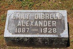 Emily Elizabeth <i>Dibrell</i> Alexander