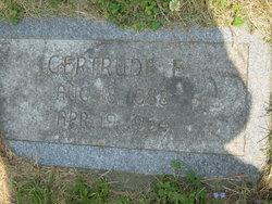 Gertrude E <i>Schmidt</i> Rockey