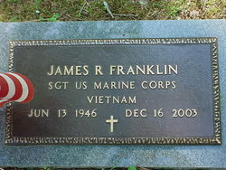 Sgt James R. Franklin