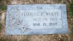 Florine Pearl <i>Ehrler</i> Wolfe
