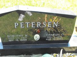 Dorothy M. <i>Anderson</i> Petersen
