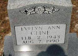 Evelyn Ann <i>Rollison</i> Cline