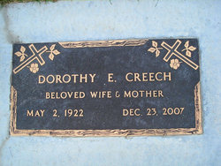 Dorothy Ellen <i>Curtis</i> Creech