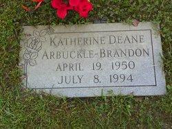 Katherine DeAne <i>Arbuckle</i> Brandon