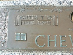 Walter Thomas Chewning, Sr
