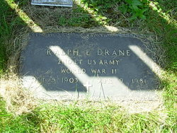 Ralph E Drane