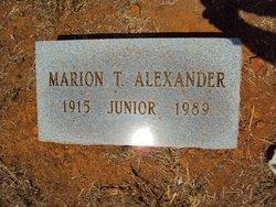 Marion Thomas Alexander, Jr