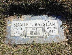 Mamie Louise <i>Parker</i> Bassham