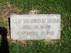 John Tomlinson Brush
