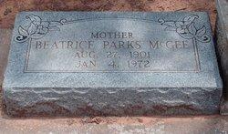 Beatrice S. <i>Parks</i> McGee