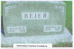 Bertha <i>Lemke</i> Beier