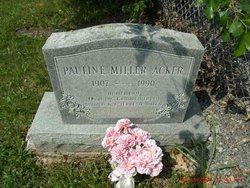 Pauline <i>Miller</i> Acker