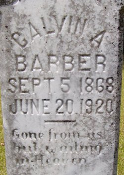Calvin Barber