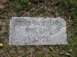 Thelma <i>Davis</i> Barnes