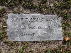 Remer Coleman Barnes