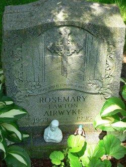 Rosemary <i>Lawton</i> Airwyke