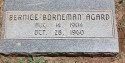 Bernice <i>Borneman</i> Agard