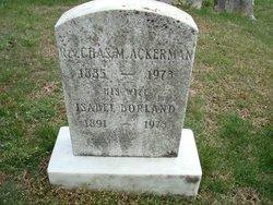 Rev Charles M. Ackerman