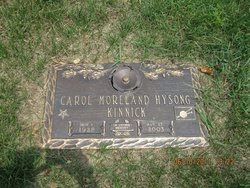 Carol <i>Moreland</i> Kinnick