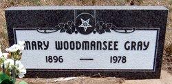 Mary <i>Woodmansee</i> Gray
