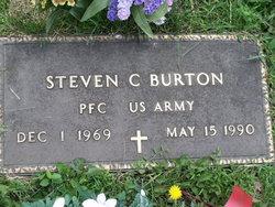 PFC Steven C Burton