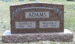Bertha <i>Vagt</i> Adams