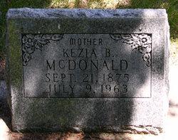 Kezia B <i>Burris</i> McDonald