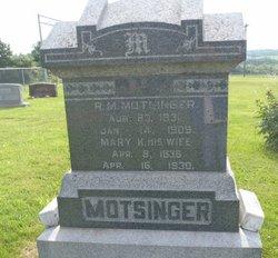 Mary Kerkley <i>Cowan</i> Motsinger