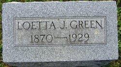 Loetta J. <i>Metzner</i> Green