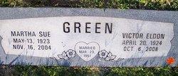 Martha Sue <i>Green</i> Green