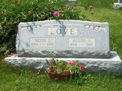 Hulda Alice <i>Hall</i> Love