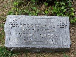 Yetta Cohen