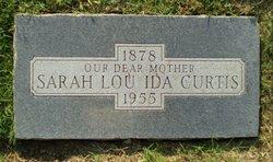 Sarah Lou Ida <i>McCullar</i> Curtis