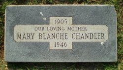 Mary Blanche <i>Curtis</i> Chandler