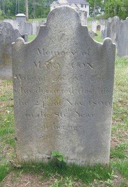 Mary <i>Mount</i> Cox