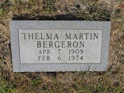 Thelma Deen <i>Martin</i> Bergeron